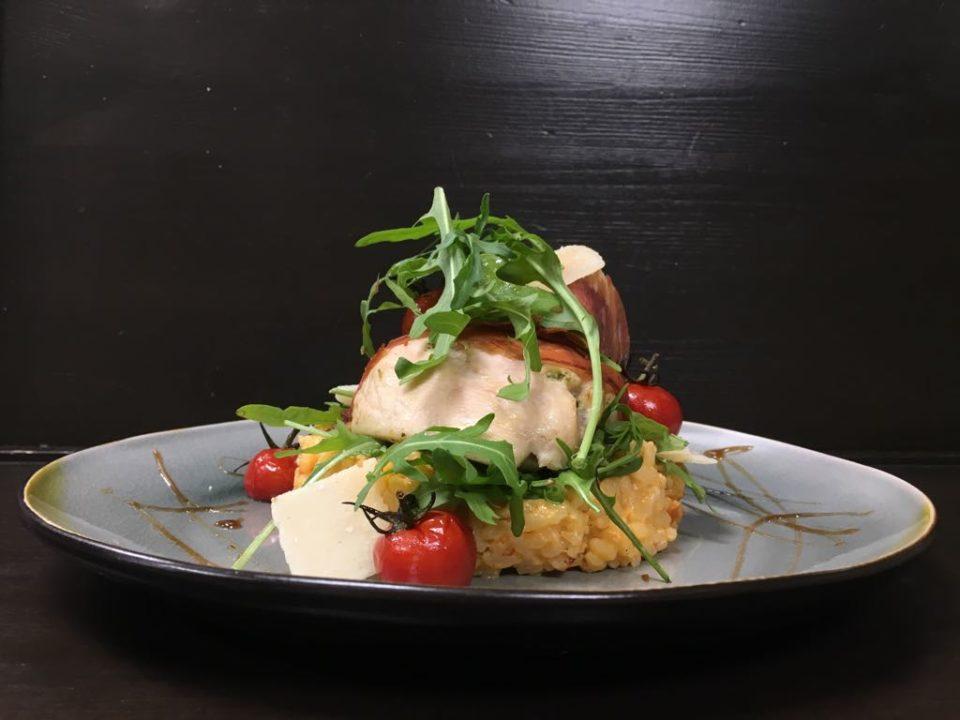 Italiaanse gevulde kip